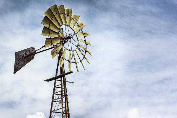 Photograph - Windmill by Randy Bayne