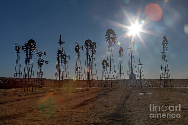 Photograph - Windmills by Jim West