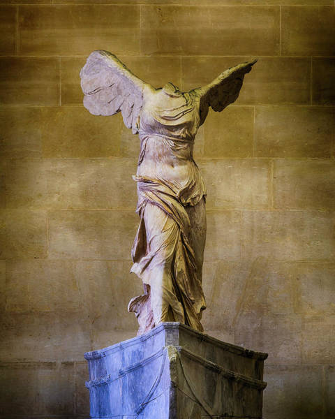 Wall Art - Photograph - Winged Victory Of Samothrace - #11 by Stephen Stookey