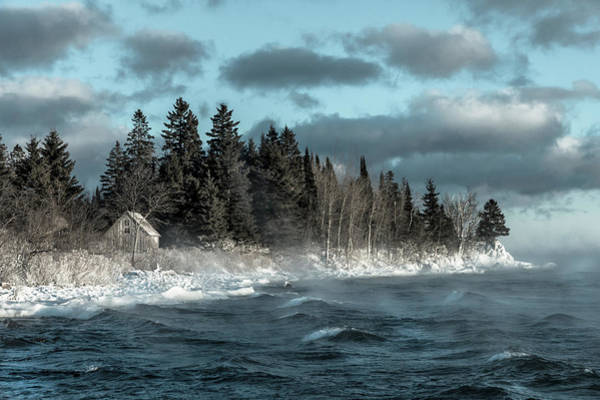 Superior Photograph - Winter Blues II by Mary Amerman