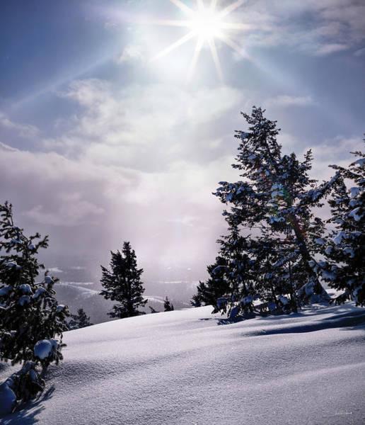 Photograph - Winter Light by Leland D Howard