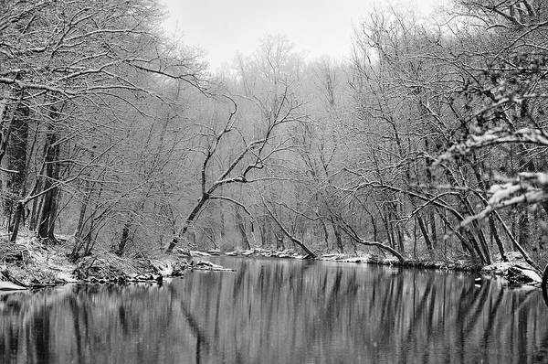 Wall Art - Photograph - Winter On The Wissahickon Creek by Bill Cannon