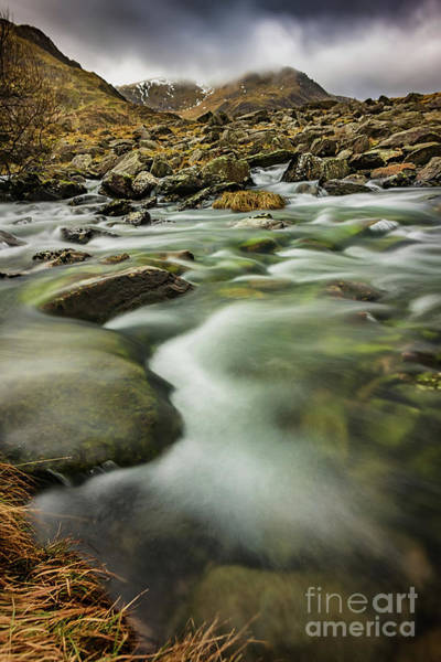 Wall Art - Photograph - Winter River Rapids by Adrian Evans