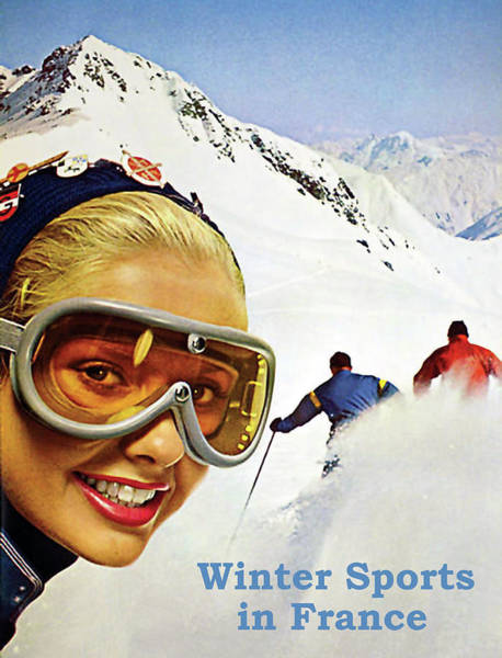 Wall Art - Photograph - Winter Sports In France by Long Shot