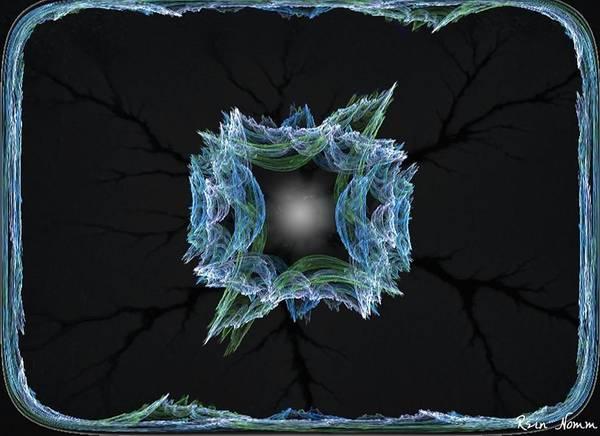 Digital Art - Winter's Window by Rein Nomm