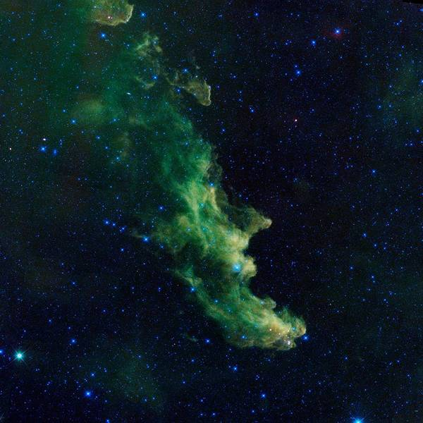 Wall Art - Painting - Witch Head Nebula by Celestial Images