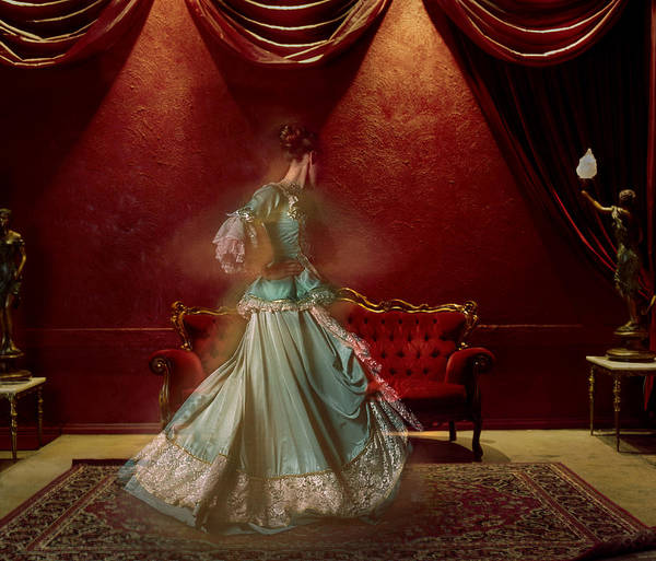 Buns Photograph - Woman In Period Costume by Samantha Everton