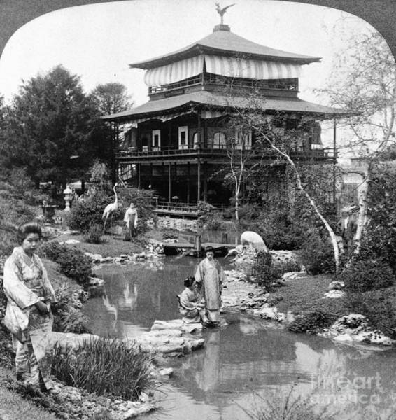Photograph - Worlds Fair Tea House by Granger