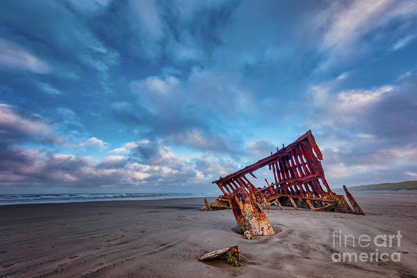 Photograph - Wreck Of The Peter Iredale by Doug Sturgess