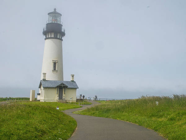 Photograph - Yaquina Head Lighthouse by Matthew Irvin