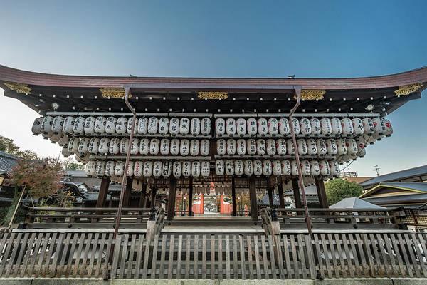Wall Art - Photograph - Yasaka Shinto Shrine, Maidono Dance Hall. Kyoto, Japan by Manuel Ascanio