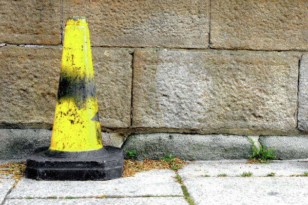 Wall Art - Photograph - Yellow Cone by Tom Gowanlock