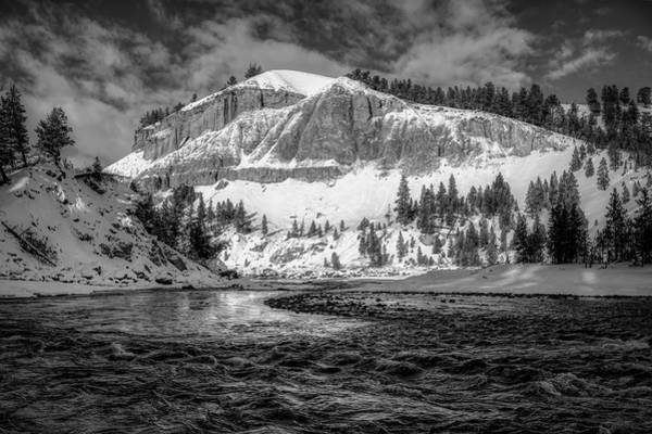 Wall Art - Photograph - Yellowstone River by N P S Neal Herbert