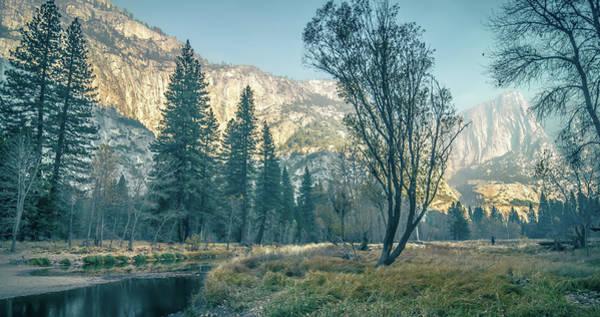 Photograph - Yosemite Valley On Sunny Autumn Morning by Alex Grichenko