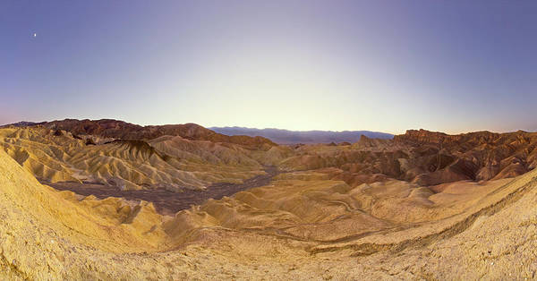 Death Valley Photograph - Zabriskie Point, Death Valley National by Eastcott Momatiuk