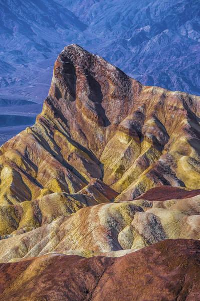 Photograph - Zabriskie Point In Death Valley National Park by Alex Grichenko