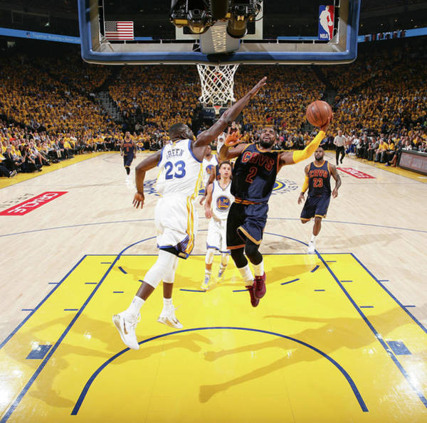 29ce2a81292a Kyrie Irving Photograph - 2015 Nba Finals - Game One by Nathaniel S. Butler
