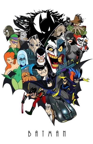 Wall Art - Digital Art - Batman by Geek N Rock