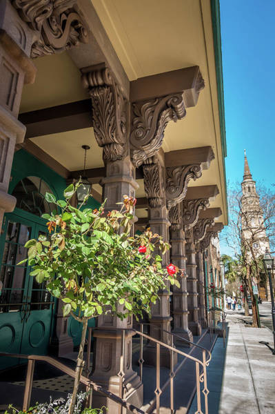 Photograph - Charleston South Carolina Historic Architecture by Alex Grichenko
