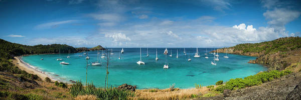 Wall Art - Photograph - French West Indies, St-barthelemy by Walter Bibikow