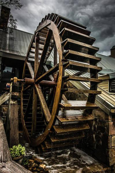 Photograph - Gatlinburg Tennessee City In Smoky Mountains by Alex Grichenko