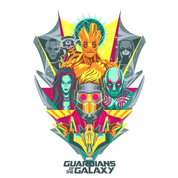 Galaxies Digital Art - Guardians Of The Galaxy by Geek N Rock