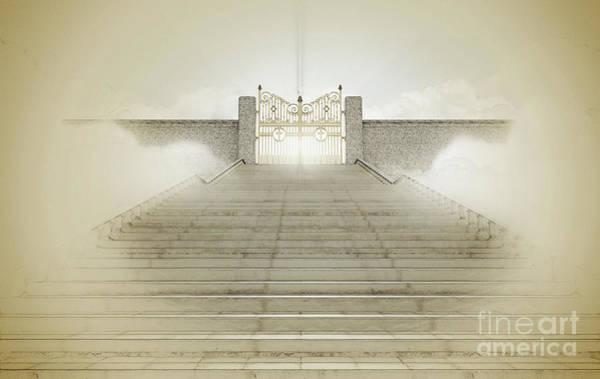 Heaven Digital Art - Heavens Gates by Allan Swart