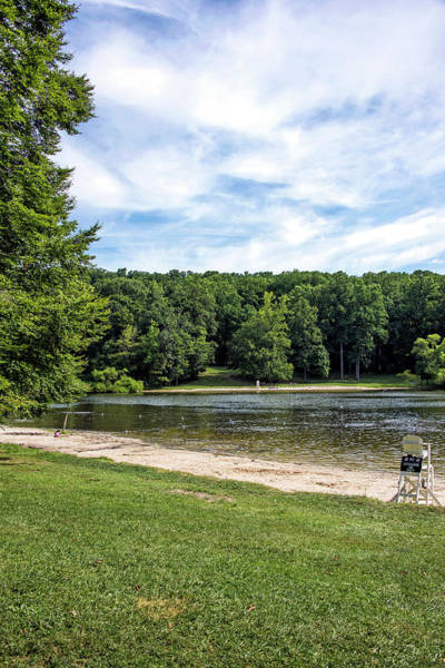 Wall Art - Photograph - Hunting Creek Lake In Cunningham Falls State Park - Maryland by Brendan Reals