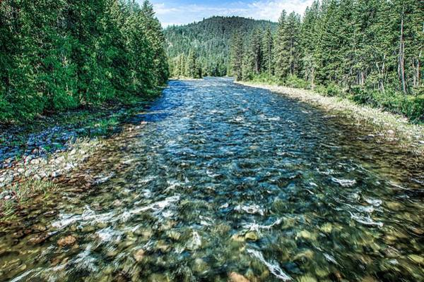Photograph - Kootenai River North West Montana by Alex Grichenko