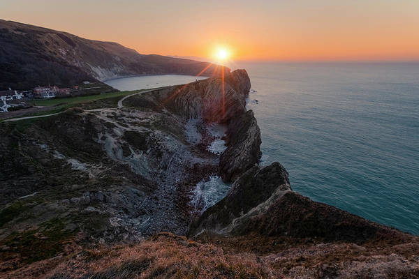 Wall Art - Photograph - Lulworth Cove - England by Joana Kruse