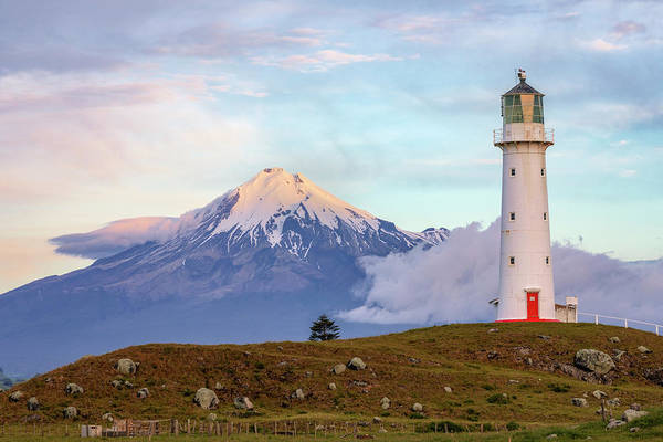 Tasman Sea Photograph - Mount Taranaki - New Zealand by Joana Kruse