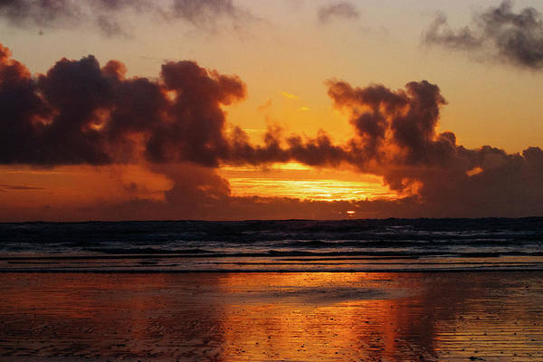 Photograph - Pacific Ocean Sunset by Lost River Photography