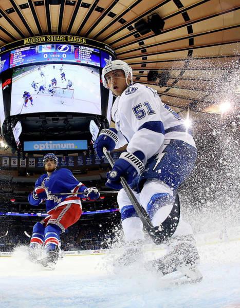 Nhl Photograph - Tampa Bay Lightning V New York Rangers by Bruce Bennett
