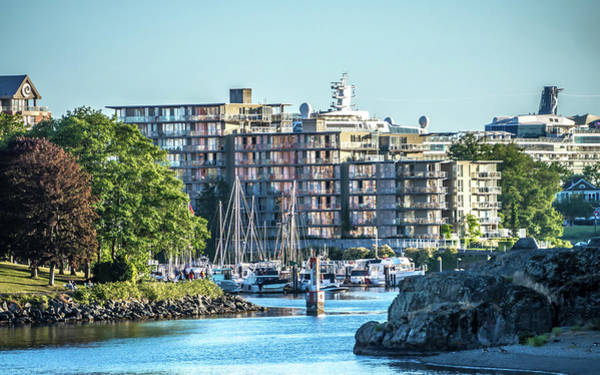 Photograph - Victoria British Columbia Canada Scenery In June by Alex Grichenko
