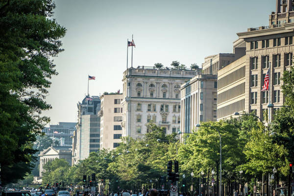 Photograph - Washington Dc City Streets And Historic Architecture by Alex Grichenko