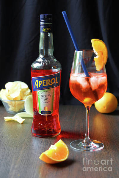 Photograph - 100 Years Of Aperol And Coctail Spritz by Marina Usmanskaya