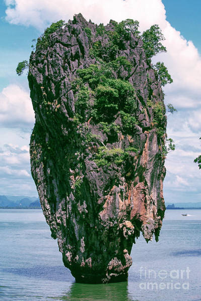 Photograph - 10015 James Bond Island by Kim Lessel