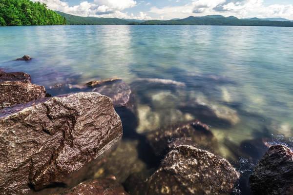 Photograph - Beautiful Landscape Scenes At Lake Jocassee South Carolina by Alex Grichenko
