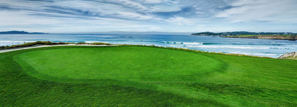 Wall Art - Photograph - 10th Hole At Pebble Beach Golf Links by Panoramic Images