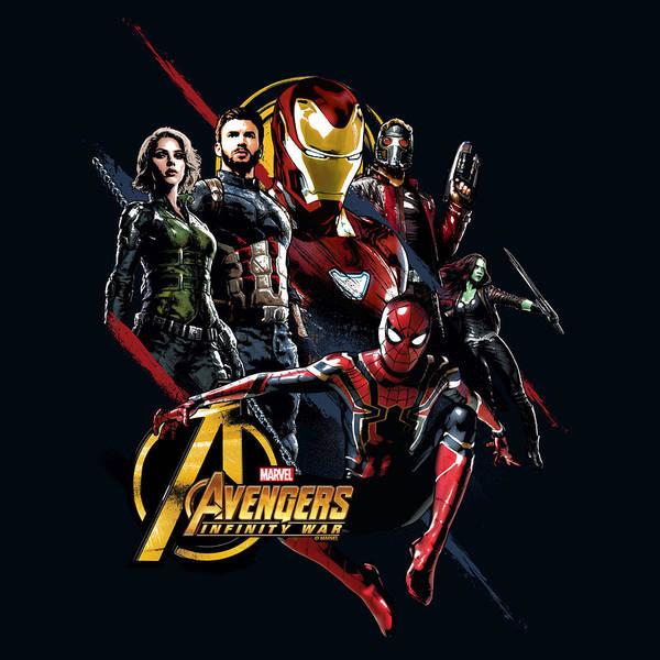 Wall Art - Digital Art - Avengers by Geek N Rock