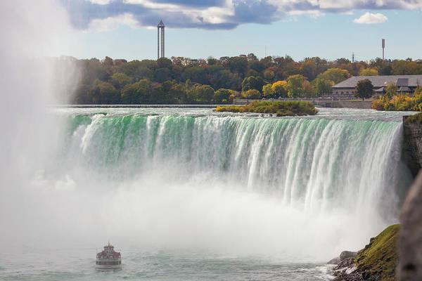 Wall Art - Photograph - Canada, Ontario, Niagara Falls by Walter Bibikow