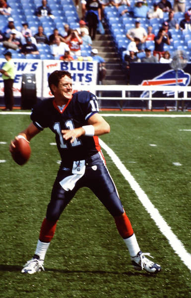 Wall Art - Photograph - 11 Drew Bledsoe by Mike Martin
