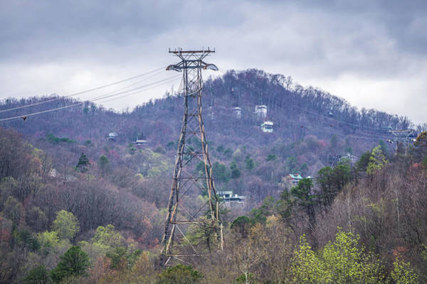 Photograph - Gatlinburg Tennessee City In Smoky Mountains by Alex Grichenko