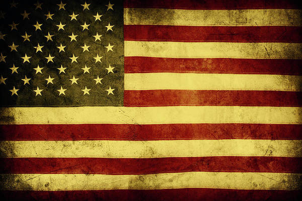Wall Art - Photograph - American Flag No.184 by Les Cunliffe