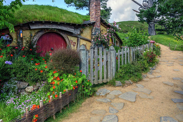 Tasman Sea Photograph - Hobbiton - New Zealand by Joana Kruse