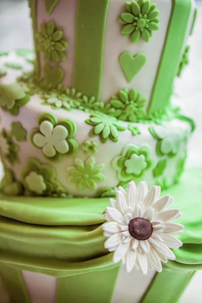 Photograph - Wedding Cake Sugar Craft by Maggie McCall