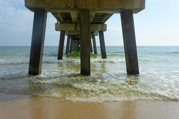 Photograph - 11068 Gulf Shores Pier by Pamela Williams