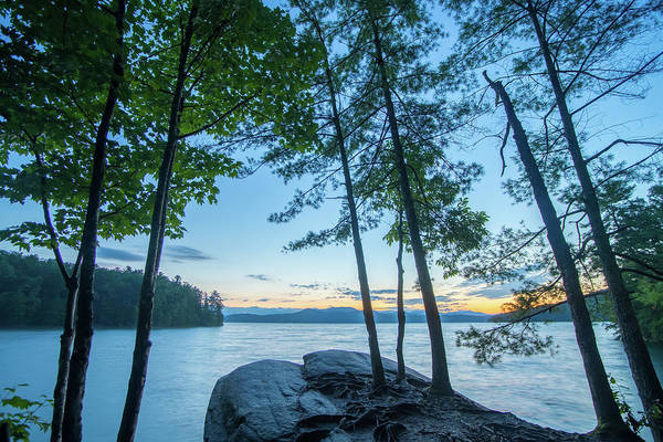 Photograph - Beautiful Landscape Scenes At Lake Jocassee South Carolina by Alex Grichenko