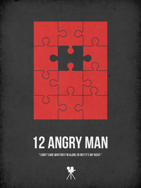 Wall Art - Digital Art - 12 Angry Man by Naxart Studio