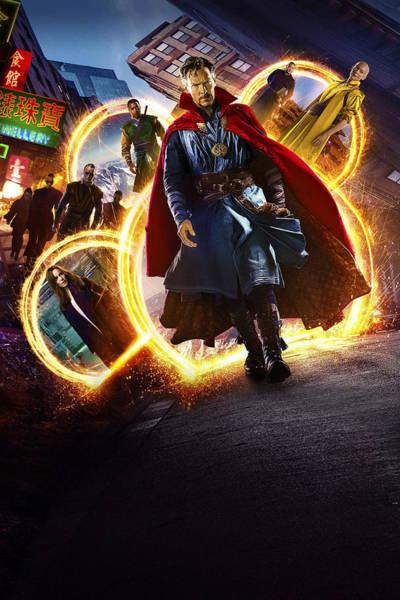 Strange Digital Art - Doctor Strange by Geek N Rock